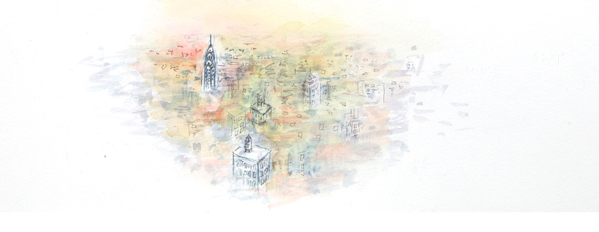 NYC illustration by Nadia Roden